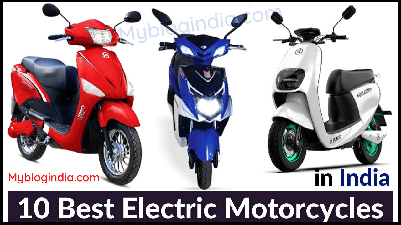 Best Electric Motorcycles In India