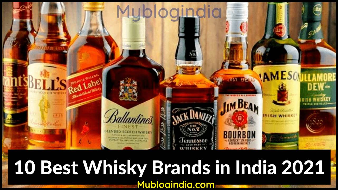Best Whisky Brands in India