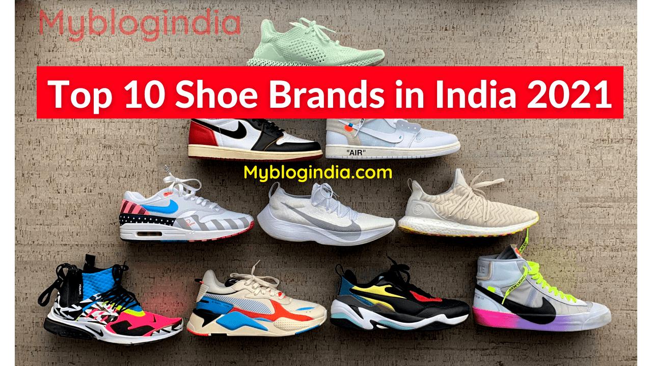 shoe brands in india